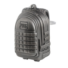 PUBG Level 3 Backpack Model Metal Keychain Playerunknown's Battlegrounds 0101170