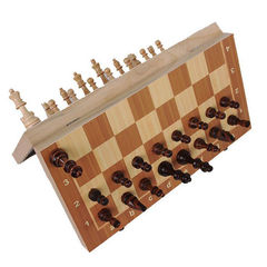 Wood Chess Set 29.5cm Magnetic 3622702