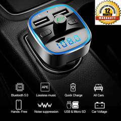 Bluetooth FM Transmitter MP3 Player 3627811