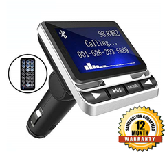 Bluetooth FM Transmitter for Car MP3 Player 3627806