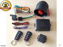 Car Alarm System Car Remote 3618501