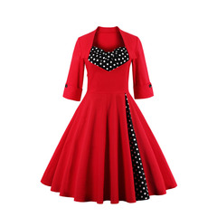 Rockabilly Midi Dress 35930