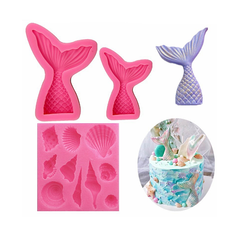 Mermaid Tail Silicone Mould I0429PK0