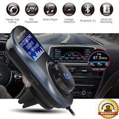 Bluetooth FM Transmitter MP3 Player 3627809