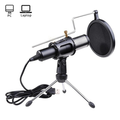 USB Microphones Condenser Microphone Tripod Stand 3623503