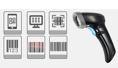 Barcode Scanner QR Code 1D 2D Wireless 3618414