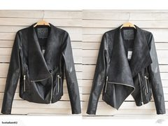 Faux Leather Jacket Womens Clothing Plus Size 18 1810316