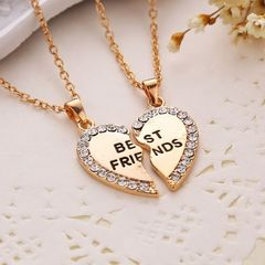 Best Friends Necklace Friendship Necklaces B0308GD0