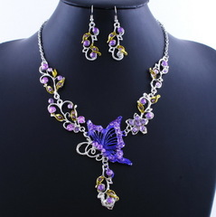Jewellery Set Necklace Earrings 1617370