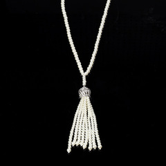 Great Gatsby Necklace Pearls Vintage Clothing Flapper Accessories B0297WT0