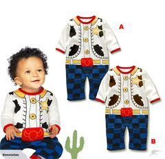 39030 Cowboy Baby Outfit Romper Costume 3903023