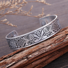 Viking Cuff Bracelet Irish Birds Magnetic Healthcare B0303SV0