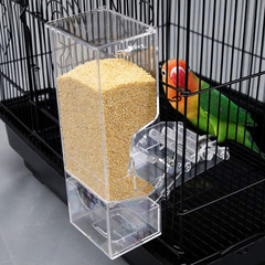 Automatic Bird Feeder Parrot Food Containers 3644504