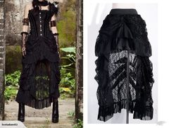 Steampunk Lace Skirt 2334414
