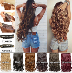 Hair Extensions Light Brown 1721720