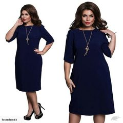 Sexy Dark Blue Casual Midi Dress Sz20/22/24 3595849