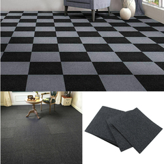 Carpet Tiles Mat Black 1KG Per Tile*3630401