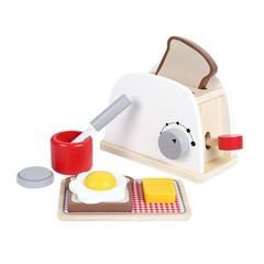 Wooden Pretend Playing Toy Breakfast Toaster 2002724