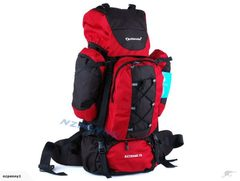 Tramping Pack 70L Back Pack Bag Red*3703772