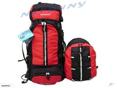 Red Tramping Pack Back Pack Bag 80L*3703782